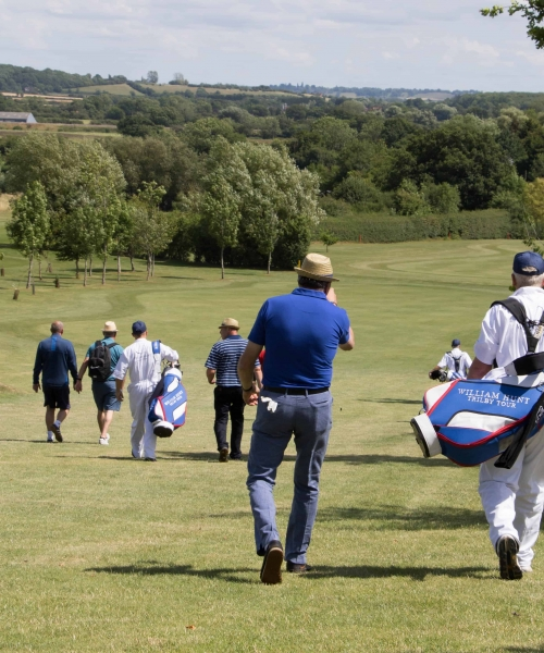 TRILBY TOUR - OUT ON THE COURSE