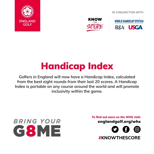 Handicapping Index Explained | World Handicapping System